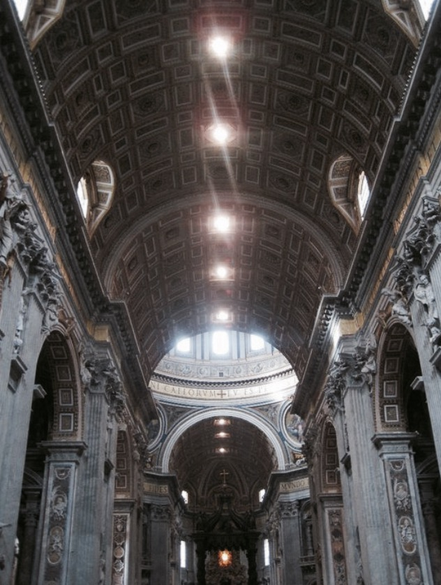 inisde st peters